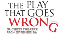 The Play That Goes Wrong London Theatre Show Tickets
