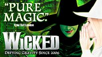 Wicked London Theatre Show Tickets
